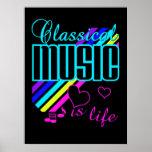 Poster de la música clásica