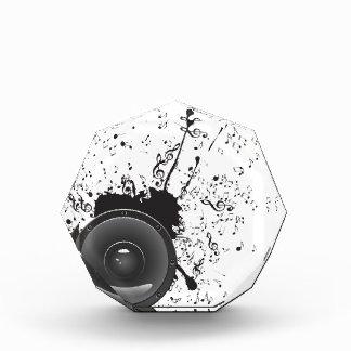 Poster de la música con el altavoz de audio 2