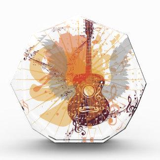 Poster de la música con la guitarra 4