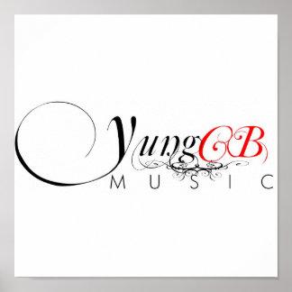 Poster de la música de los CB de Yung