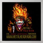 Poster de la mutilación del metal de EJ y del DS