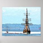 Poster de la nave de señora Washington