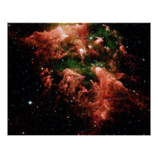 Poster de la nebulosa de Carina