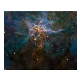 Poster de la nebulosa de Carina - 20 años del Hubb