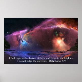 Poster de la nebulosa de Dalai Lama