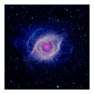 Poster de la nebulosa de la hélice