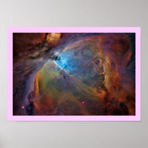 Poster de la nebulosa de Orión A PARTIR del 14,95