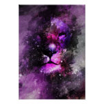 Poster de la nebulosa del león