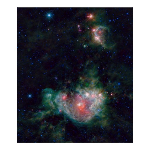 Poster de la nebulosa NGC2174