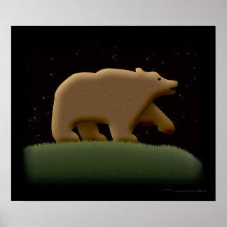 Poster de la noche del oso