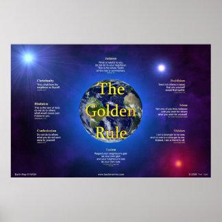 Poster de la norma de oro (horizontal)