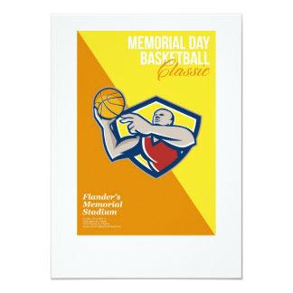 Poster de la obra clásica del baloncesto del comunicado
