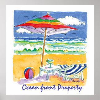 Poster de la Océano-Delantero-Propiedad