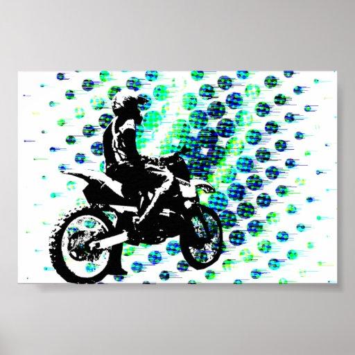 poster de la ondulación 6x4 (semi-lustre)