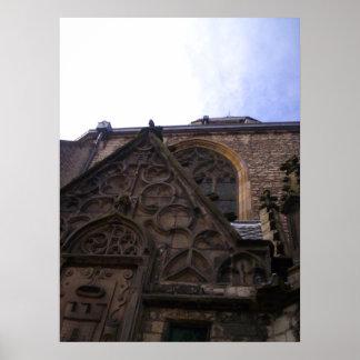 Poster de la opinión D de la catedral de Alkmaar