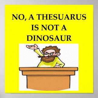 poster de la paleontología