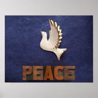 poster de la paloma de la paz