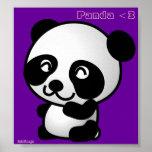 Poster de la panda <3