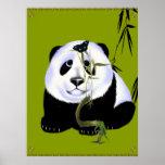 Poster de la panda del bebé