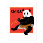 Poster de la panda postal