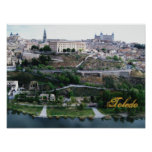 Poster de la pared de Toledo España