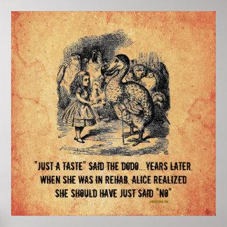 Poster de la parodia de la rehabilitación de Alici