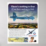 Poster de la parodia del abejón de las vías aéreas