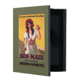 Poster de la pasa de California de la Sun-Criada iPad Coberturas