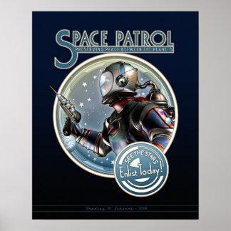 """Poster de la patrulla del espacio (16x20"""")"""