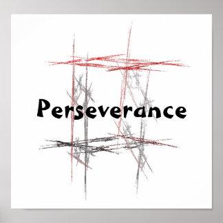 Poster de la perseverencia de los artes marciales