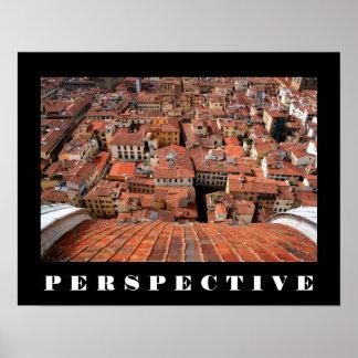 Poster de la perspectiva póster