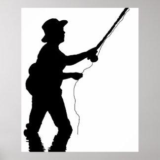 Poster de la pesca póster