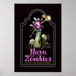 Poster de la piedra sepulcral de los zombis del hi