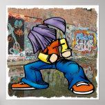 Poster de la pintada de Hip Hop