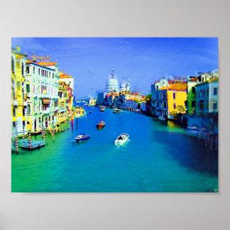 Poster de la pintura de Venecia