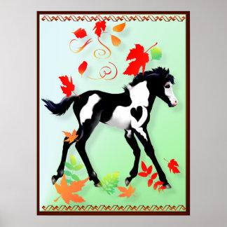 Poster de la pintura del otoño