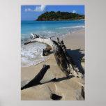 Poster de la playa de Antigua