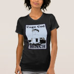 Poster de la playa de Cape Cod Camiseta