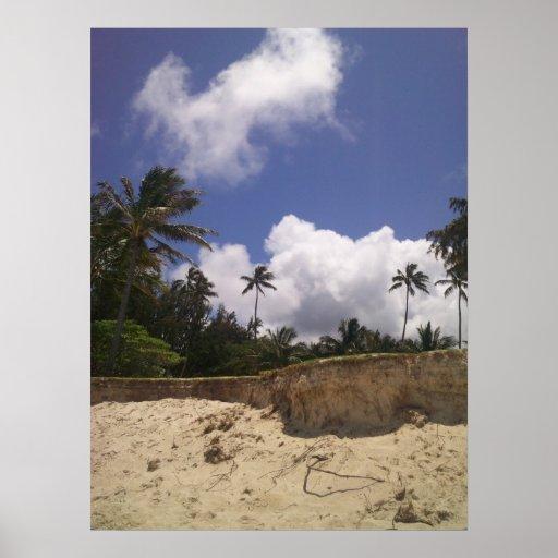 Poster de la playa de Kailua