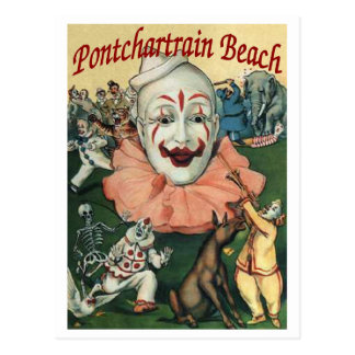 Poster de la playa de Pontchartrain Postales