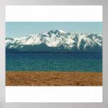 Poster de la playa del lago Tahoe Nevada