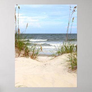 Poster de la playa póster