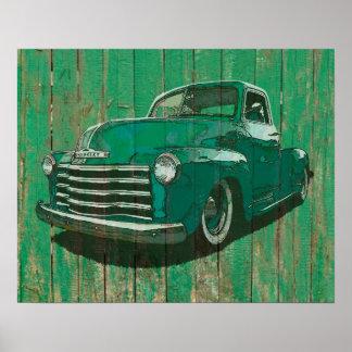 Poster de la posguerra de la recogida de Chevy