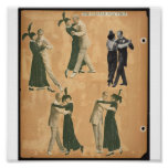 Poster de la Poster-Vintage-Danza