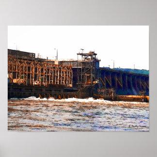 Poster de la presa de Conowingo