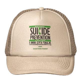 POSTER de la prevención del suicidio Gorra
