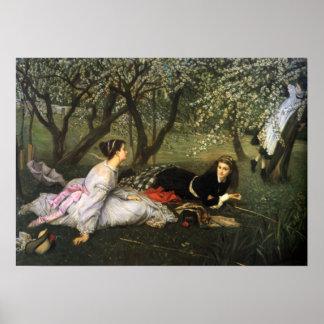 Poster de la primavera de James Tissot