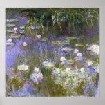 Poster de la primavera de Monet