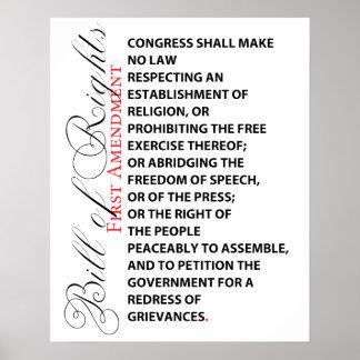 Poster de la Primera Enmienda