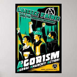 Poster de la propaganda de Agorism